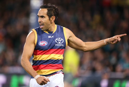 Eddie Betts and racism in sport: it's not enough to just not