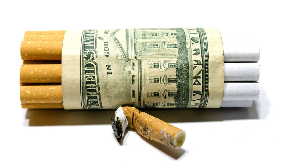 Another cost of smoking: Sky-high insurance