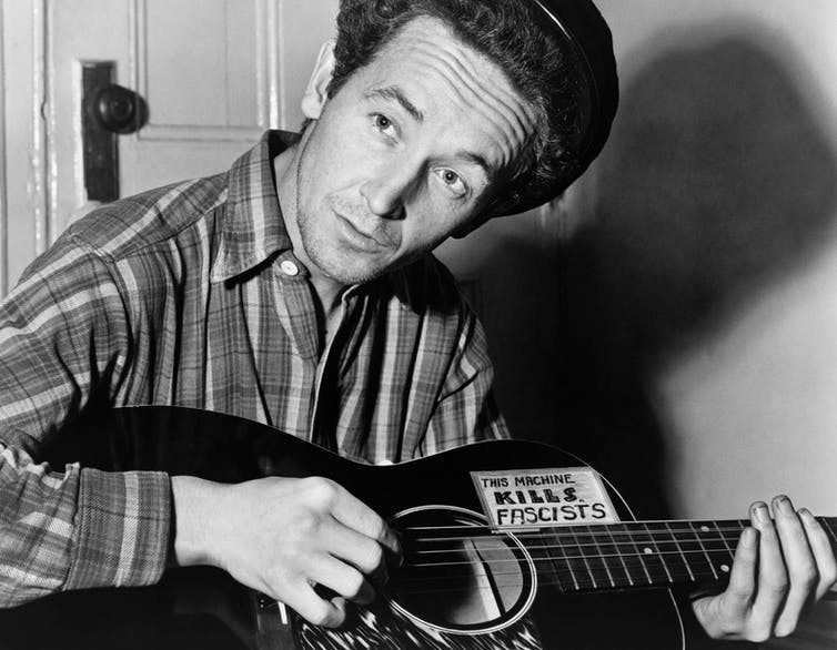 Fred Trump vs Woody Guthrie: a never-ending clash