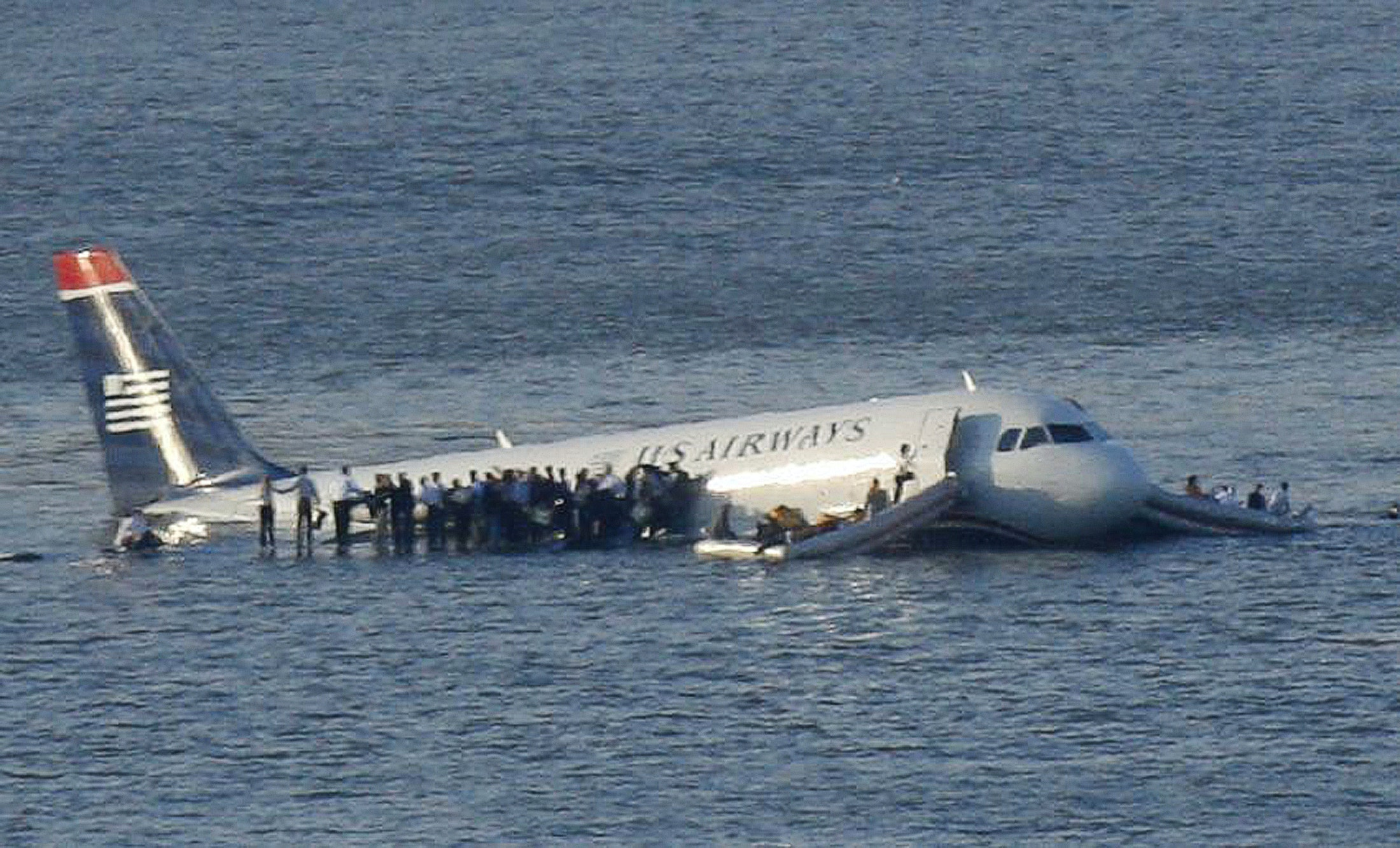 Plane Collision Over the Hudson
