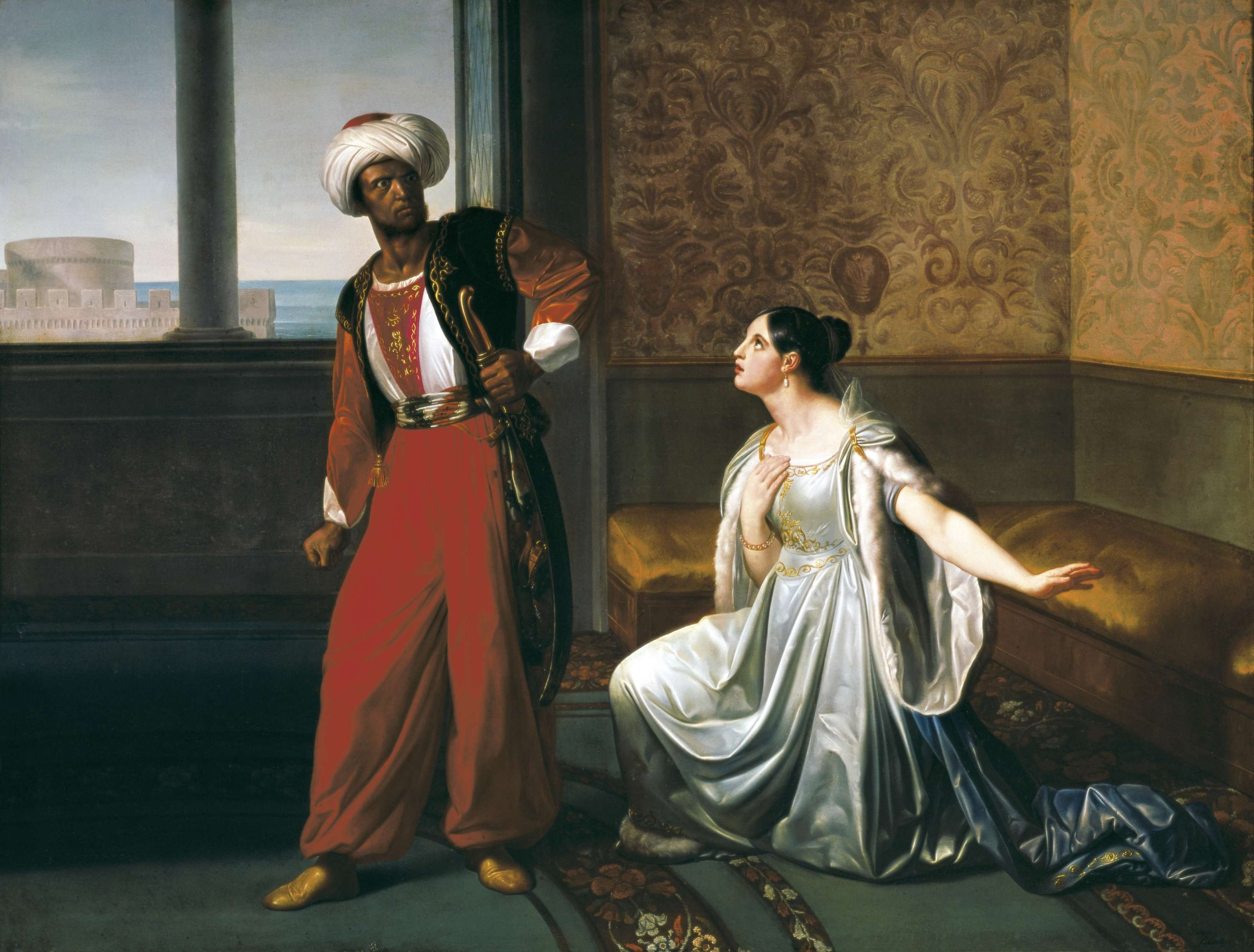 desdemona and the norms of sexual morality in shakespeares othello Cinthio drew a moral shakespeare's most striking departure from cinthio is the manner of his heroine's death in shakespeare, othello suffocates desdemona.