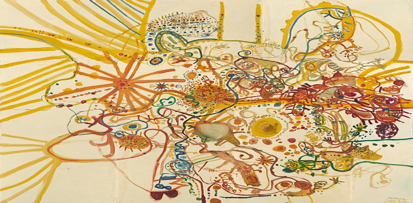 Here's looking at: John Olsen, Summer in the You Beaut ...