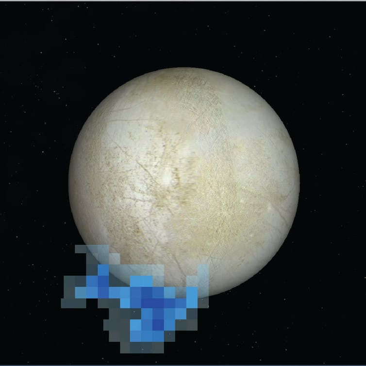 What Might Life On Europa Be Like    BCA Chemistry Ganymede s Interior