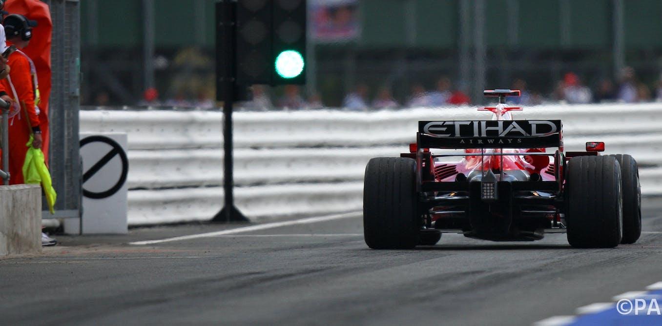 The race to make Formula One greener