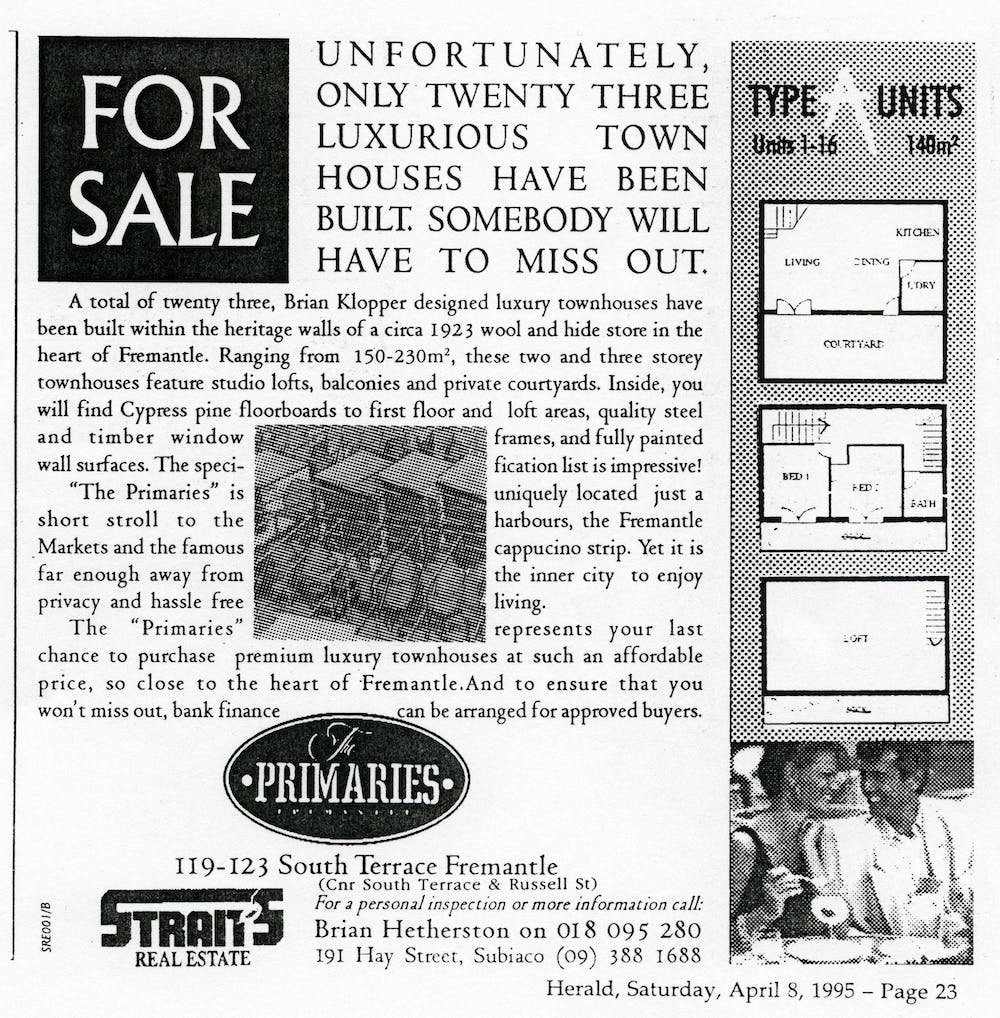 Reinventing Density Bending The Rules Can Help Stop Urban Sprawl Instrument Cluster Circuit Board Is Bad 1000 Bucks Page 4 Near Famous Cappuccino Strip A 1995 Newspaper Ad For Primaries Fremantle City Library History Centre