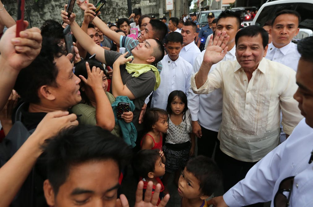 In the Philippines, celebrity, melodrama and national politics are