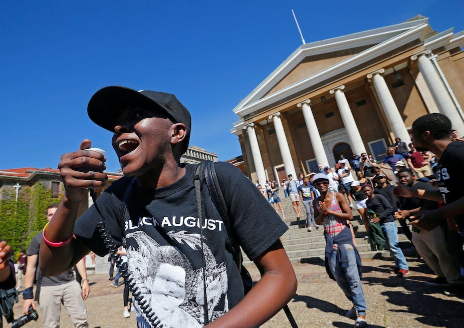 History of South African student protests reflects inequality's grip