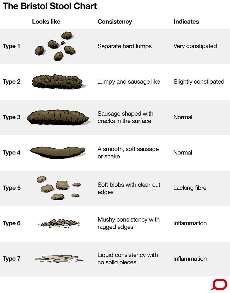 What The Consistency Of Your Poo Says About Your Health