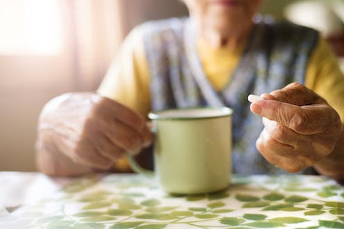 Grandmother's little helper – a new drug problem emerges