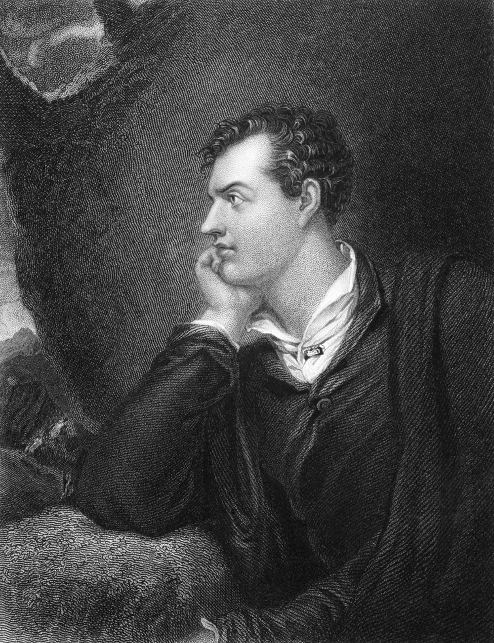 friday essay why literary celebrity is a double edged sword lord byron 1788 1824 engraved by h robinson georgios kollidas