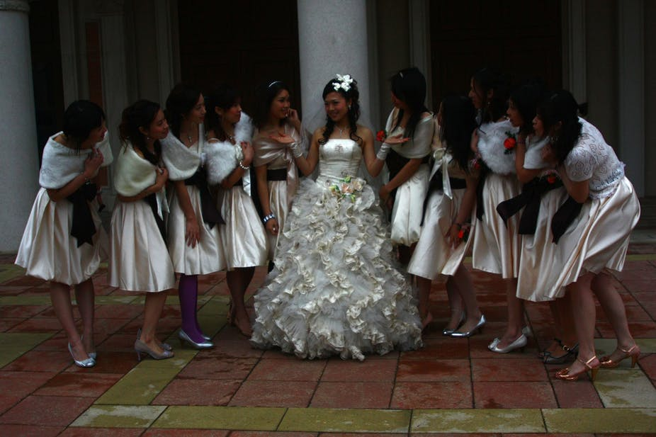 The Dangers Of Being A Bridesmaid In China Mean Some Brides Now Hire