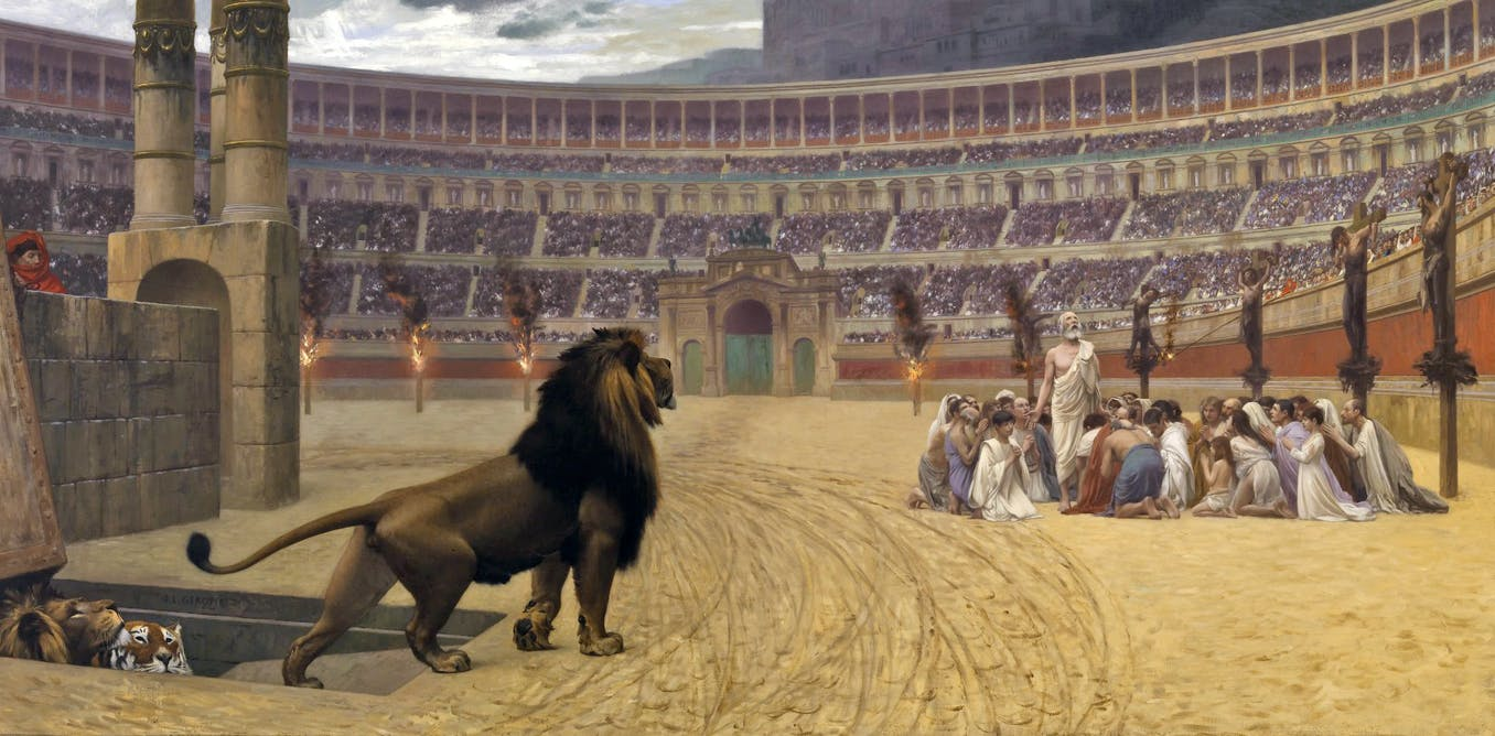 Mythbusting Ancient Rome Throwing Christians To The Lions