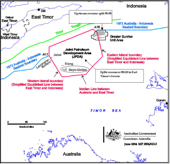 What You Need To Know About TimorLeste And Australias Sea Border - Map of us drawn by australian