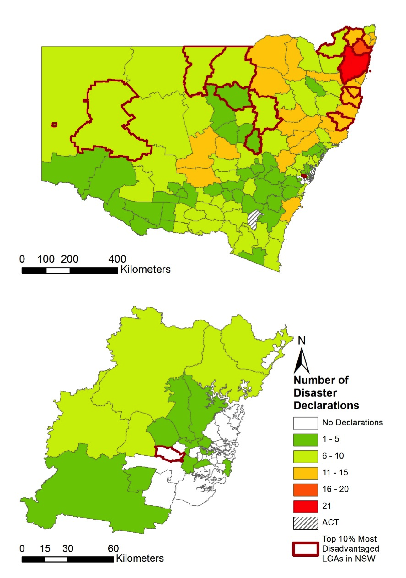 Natural disasters are affecting some of Australias most