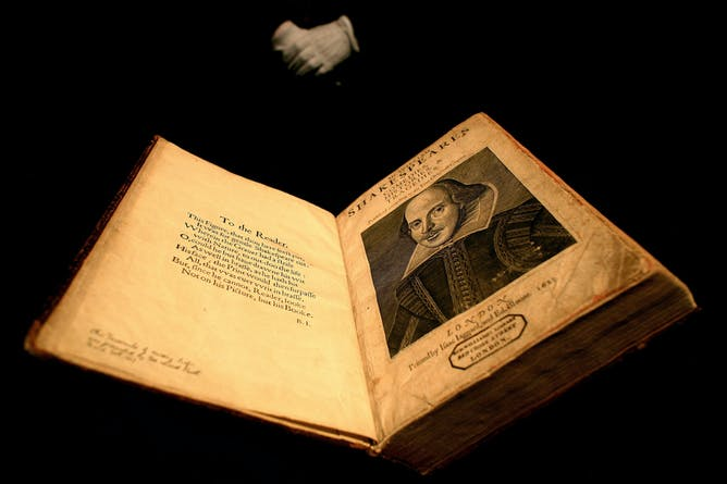 why was shakespeare s death such a non event at the time a 1623 copy of the calf bound first folio edition of william shakespeare s plays dylan martinez reuters