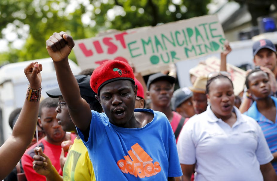 South African University Crisis Needs A Change Of Policy Not Just More Money