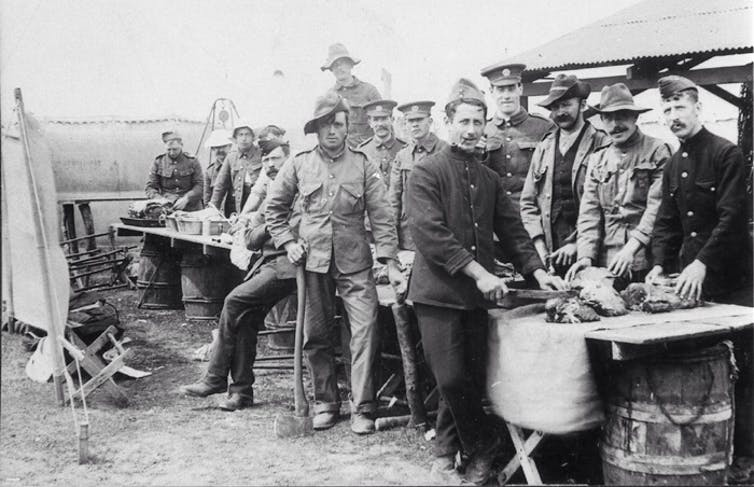 Biscuit for breakfast – trench warfare was hard on soldiers