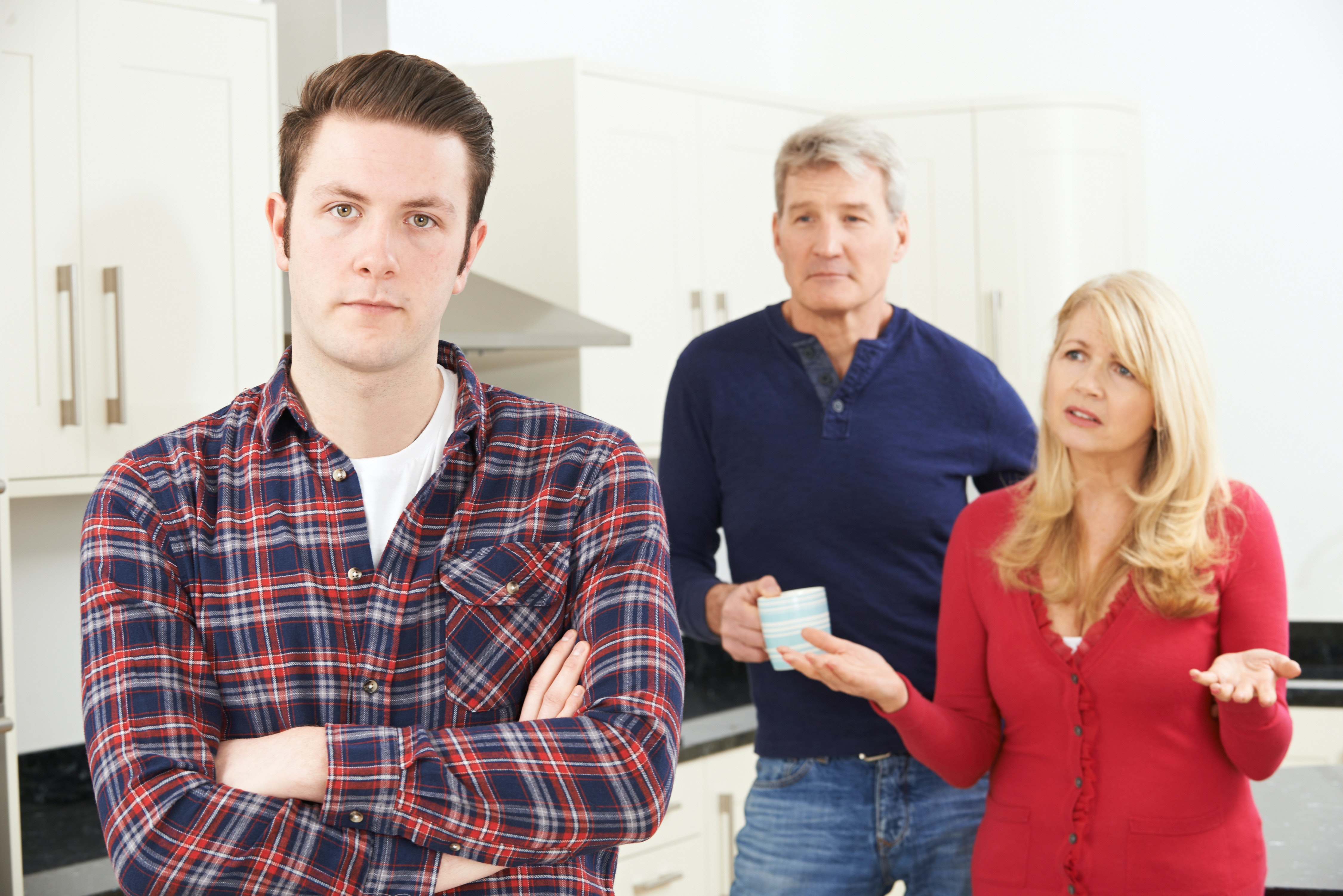 Adult family home staring
