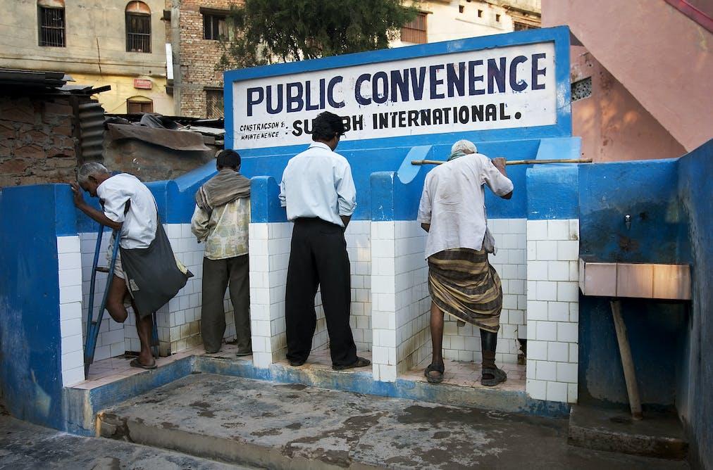 Public Toilets In The City Of Varanasi India Jorge Royan