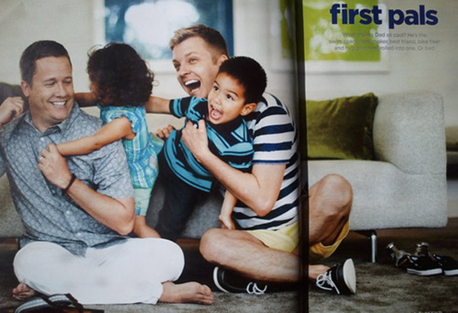 Marriage is best for raising children thats why we need a jc penny ad in the usa depicting a gay couple with children flickrfreedom to marry thecheapjerseys Gallery