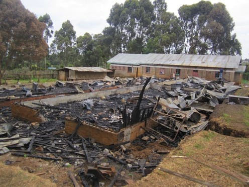 A burning question: why are Kenyan students setting fire to their