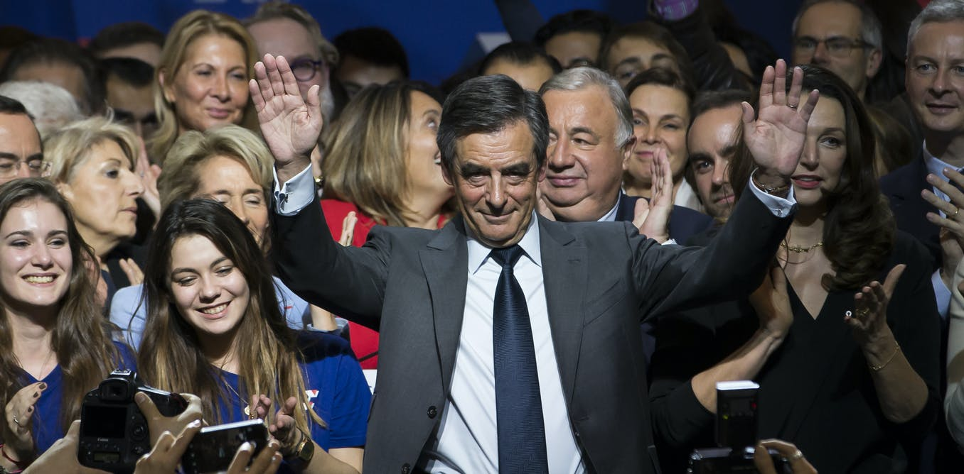 François Fillon, candidato de Les Republicains