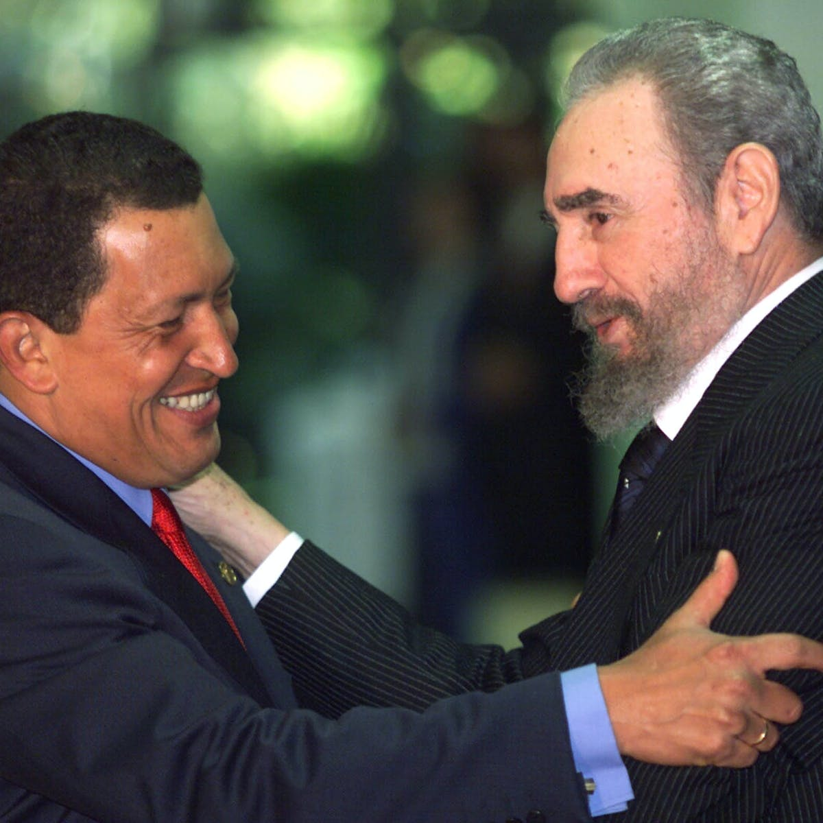 In Crisis Stricken Venezuela Fidel Castro S Legacy Lives On