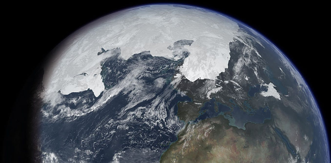 ice ages have been linked to the earth's wobbly orbit
