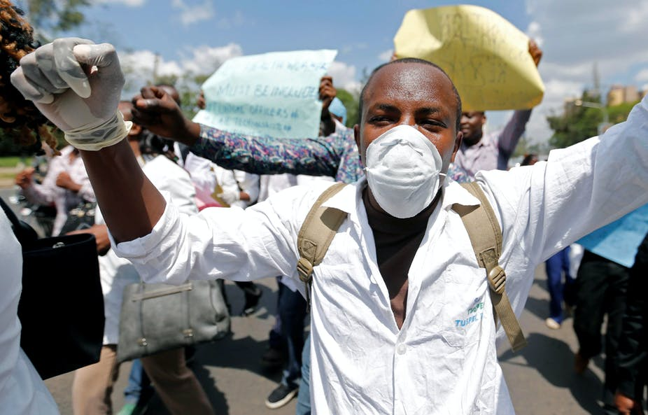 Why Kenyan health workers are on strike and what can be done about it