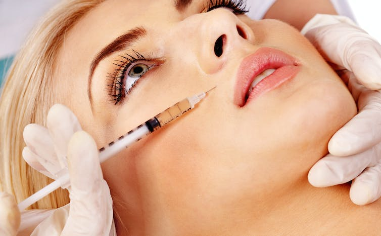 Why are young women without wrinkles using Botox?
