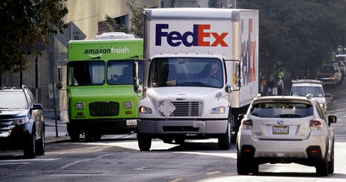 a89bc3003e3 More online shopping means more delivery trucks. Are cities ready