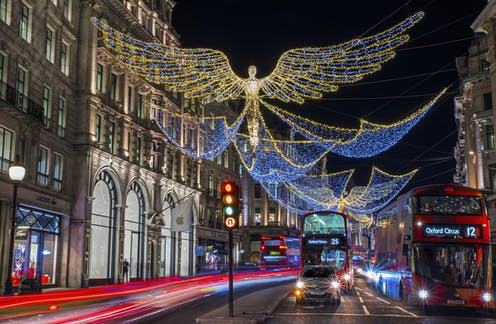 Switched-on city: how London learned to love Christmas lights