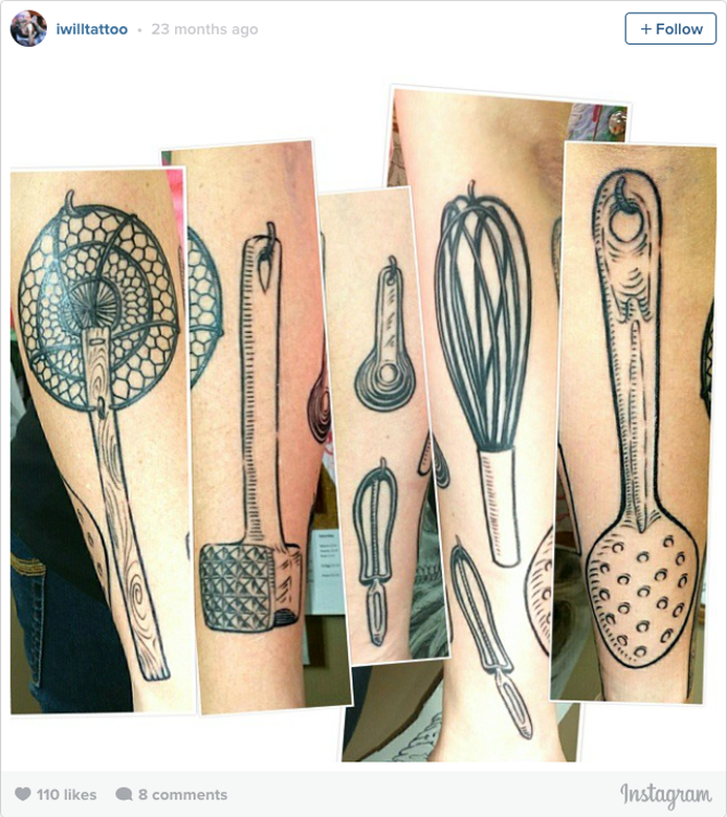 kitchen ink: foodies, chefs and tattoos