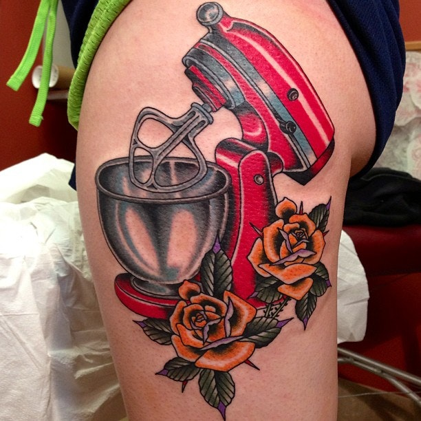 Kitchens Ink Tattoo | Kitchen Ink Foodies Chefs And Tattoos