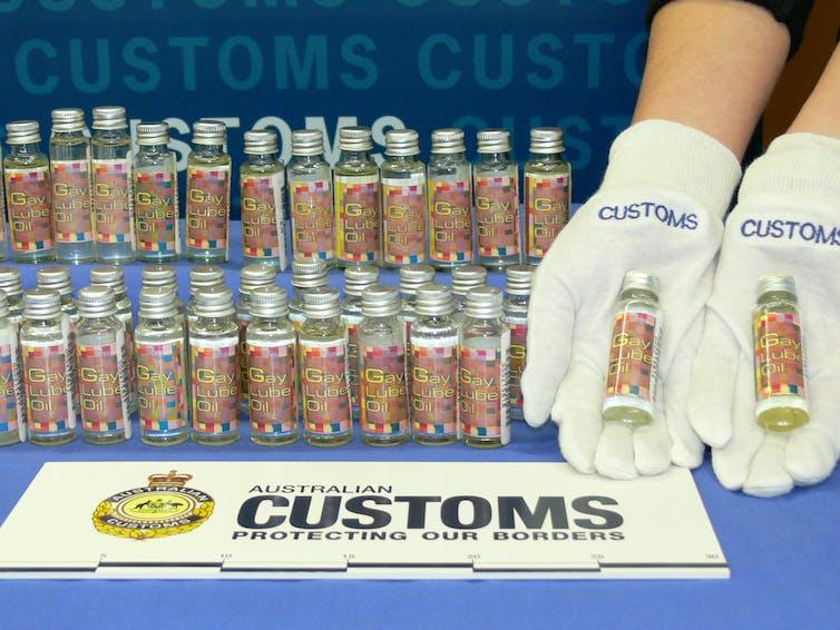 steroids customs