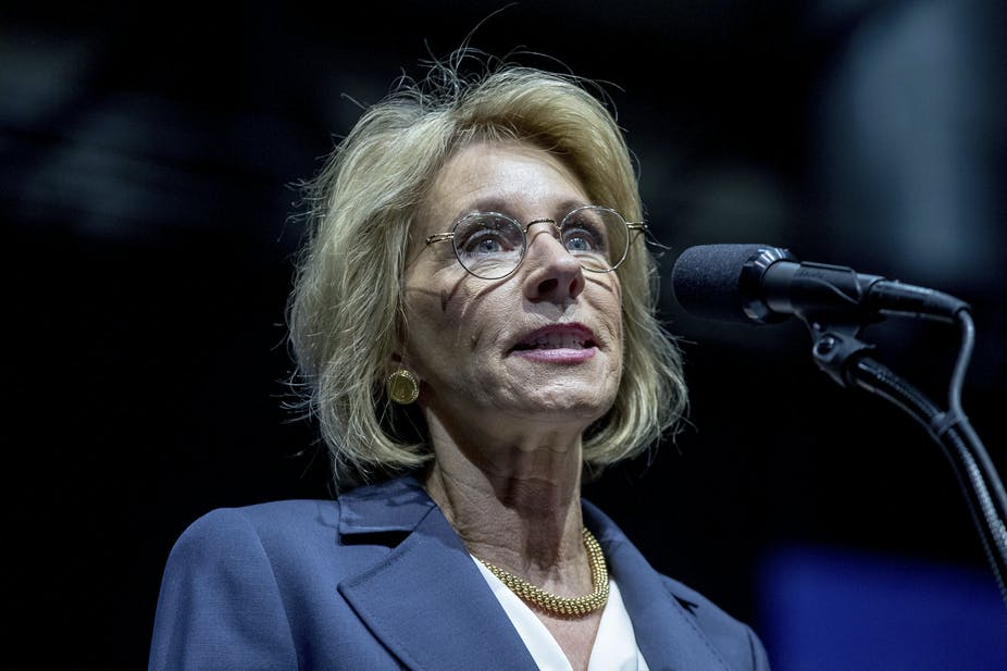 Who is Betsy DeVos  4167a465fe86
