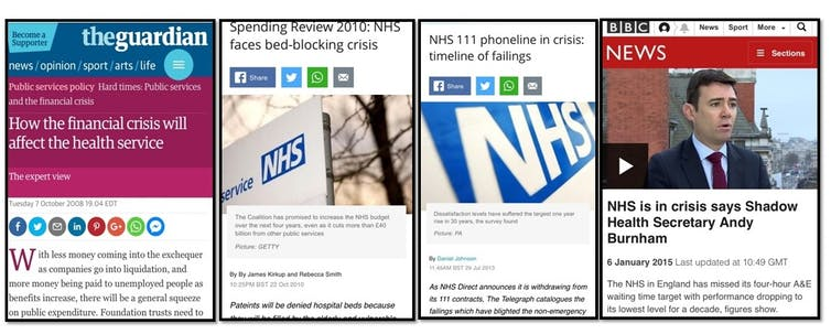 e825463795b The NHS is not in crisis – here's why