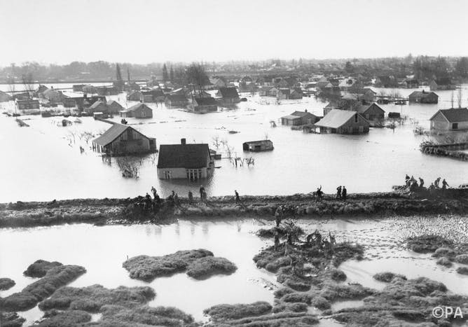1953 Storm Surge How Britain S Worst Natural Disaster