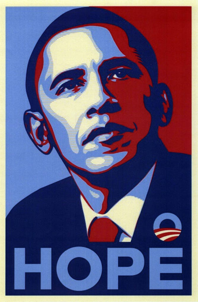 shepard fairey s inauguration posters define political art in no we didn t yvette wohn cc by sa