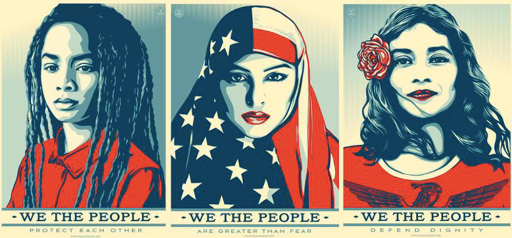 Image result for women's movement shepard fairey