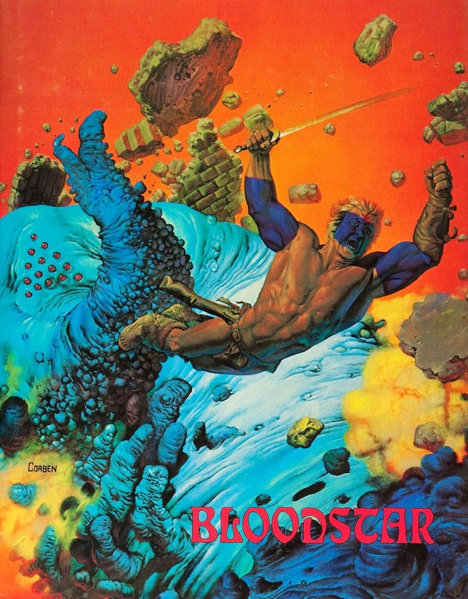 Bloodstar, published in 1976.