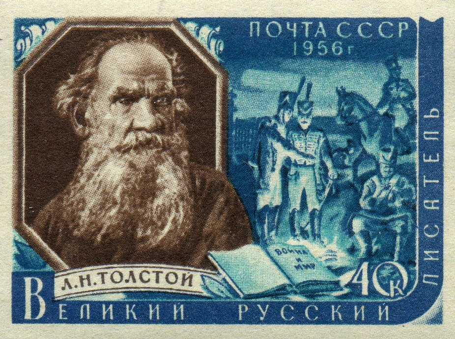 What Is Thesis Statement In Essay A Sovietera Stamp Depicts A Scene From Leo Tolstoys War And Peace  Wikimedia Commons Health Awareness Essay also Sample Of Proposal Essay How Tolstoys War And Peace Can Inspire Those Who Fear Trumps America Argumentative Essay Thesis Examples
