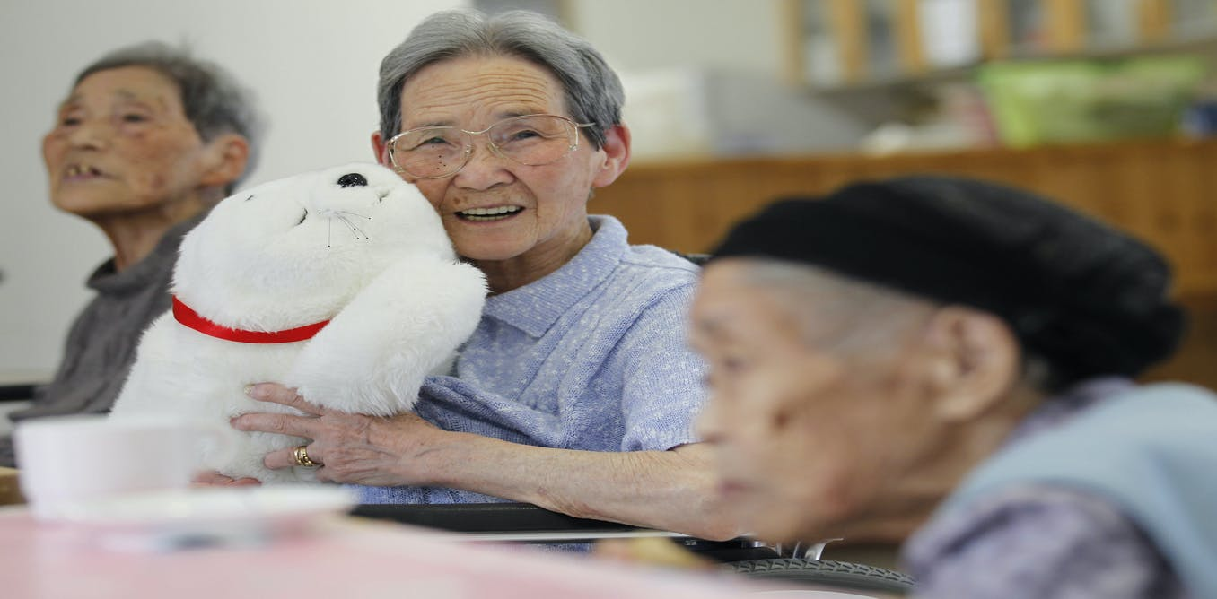 Toys For Elderly : Robot revolution why technology for older people must be