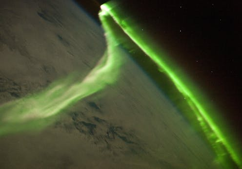 Does an anomaly in the Earth's magnetic field portend a
