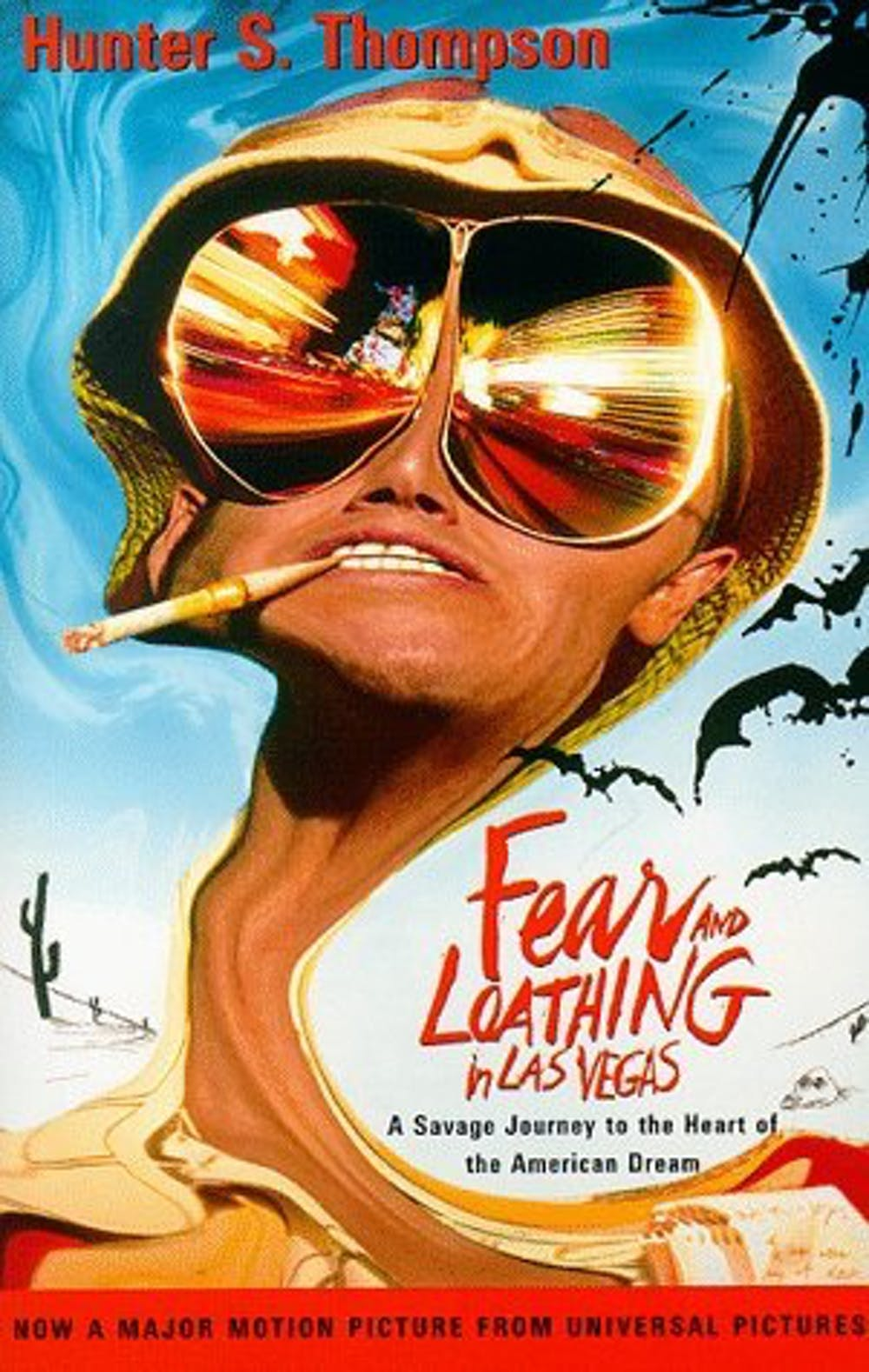 bcb5f68b77 Cover of the 1998 edition of Fear and Loathing in Las Vegas. Vintage Books