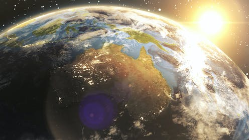 Australia on the move: how GPS keeps up with a continent in constant