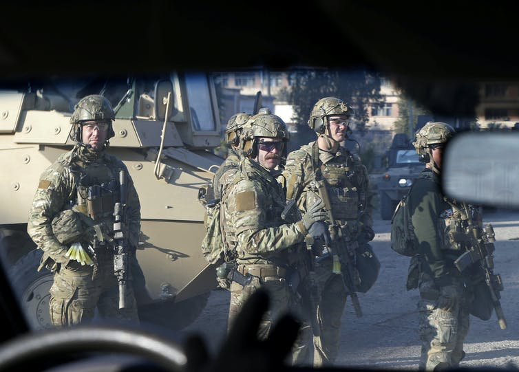 How the US military is using 'violent, chaotic, beautiful