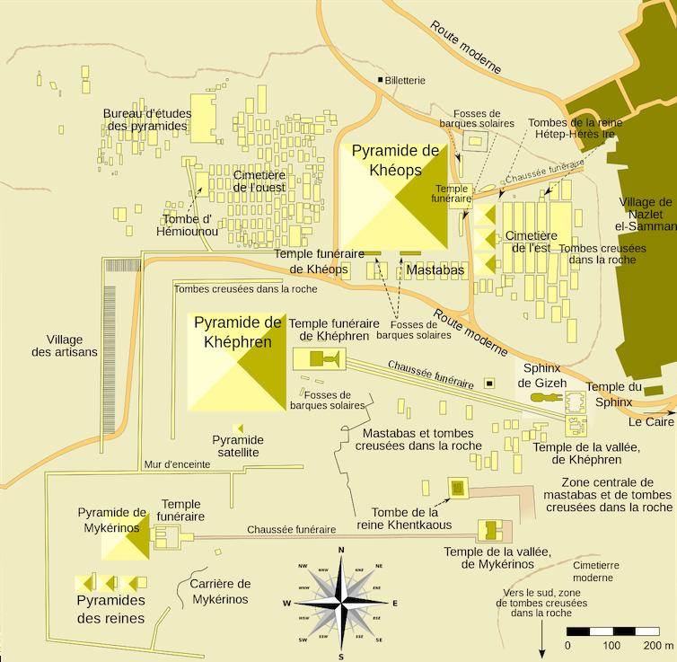 Les pyramides sous le scan : premiers résultats pour Khéops