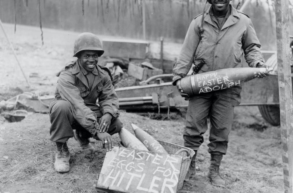 African-Americans fighting fascism and racism, from WWII to
