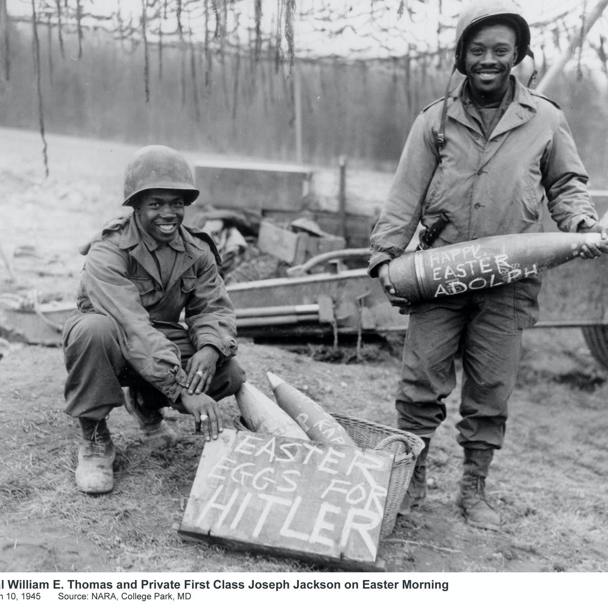 African-American GIs of WWII: Fighting for democracy abroad